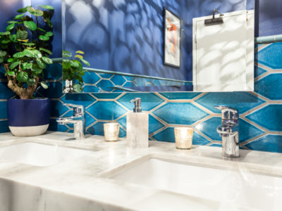 Mister Jiu's: Picket Bathroom Retreat