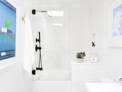 Orlando Soria's Picture Perfect Parquet Bathrooms