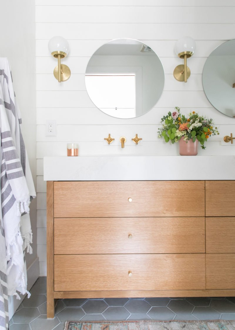 Sugar And Charm Bathroom Reveal Fireclay Tile
