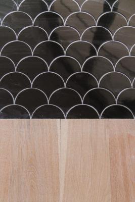 Villa Bonita: Black Kitchen Floor Tile