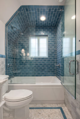 Mayan Blue Bathroom Tile
