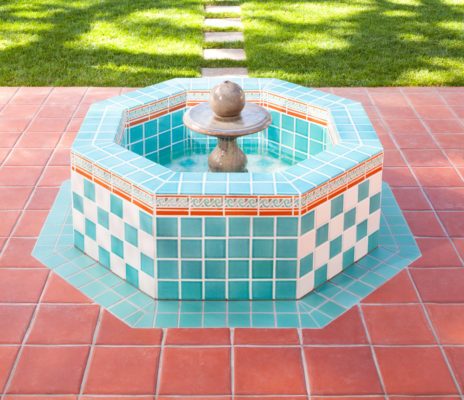 Spanish Colonial Revival Fountain
