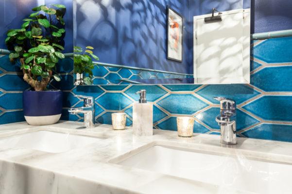 Mister Jiu's: Picket Bathroom Retreat