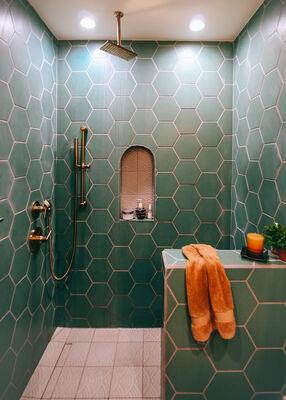 A Family Affair: Guest Bathroom