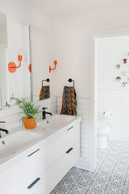 Jessica Honegger: Kids' Bathroom