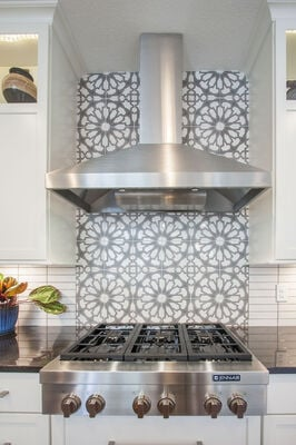 Persian Star Backsplash