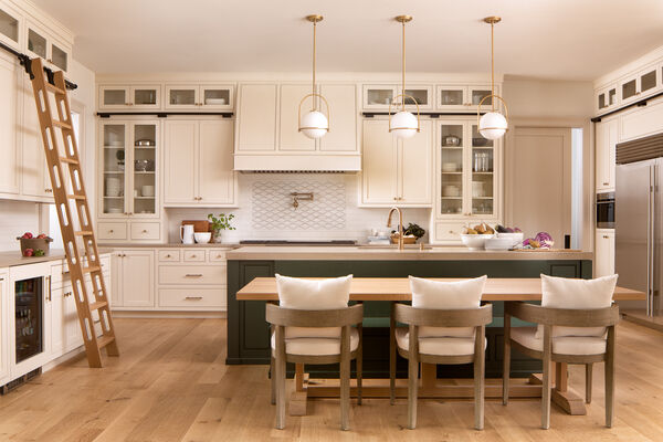 Morrison Design House: Handpainted Tile Backsplash Accent