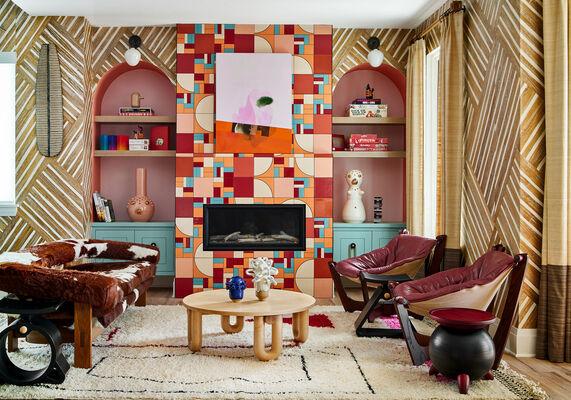 House Beautiful Concept House: Noz Design Fireplace Tiles