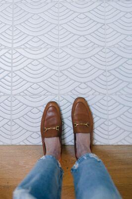 Jess Kirby: Summit Bathroom Floor
