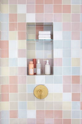 Oh Joy!: Perfectly Imperfect Guest Bathroom