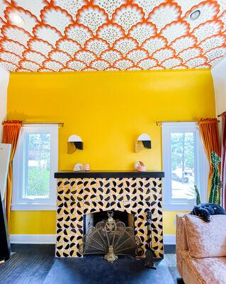 Dani Nagel: Custom Pivot Fireplace