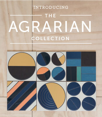 Introducing our new Agrarian Handpainted Collection