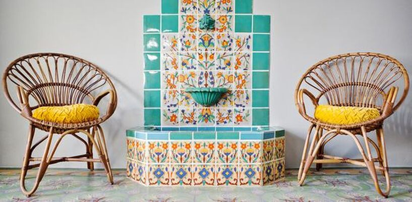 10 Tiled Fountains We're Falling For