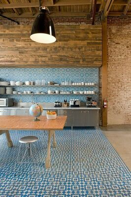 Design Trends: Create Contrast With Patterned Tile and Wood Finishes