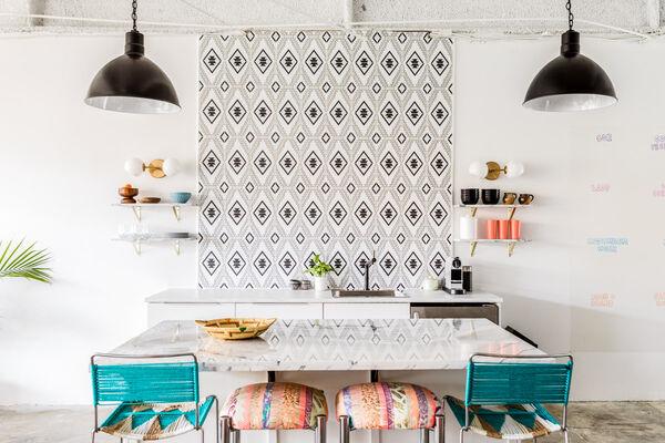 Secret Agent PR's Revamped Office Kitchen