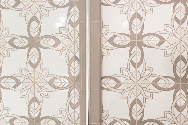 Handpainted Tile Takes the Floor