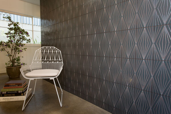Contemporary Handpainted Accent Wall