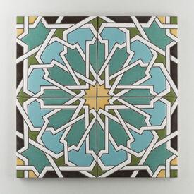 Persian  Star  Warm  Motif