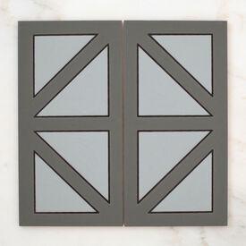 2019 Q2 Product Detail Photo Handpainted Metropolitan 6X12 New York Grey Motif Group Crop
