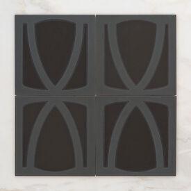 2019 Q2 Product Detail Photo Handpainted Metropolitan 8X8 Los Angeles Black Motif Group Crop